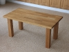 Bespoke oak coffee table