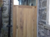 Bespoke church door and frame