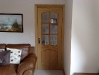 Part glazed internal oak door