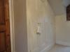 Bespoke wardrobe with angled doors
