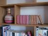 Bespoke home library incorporating sliding ladder