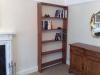 Sapele bookcase
