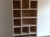 Frasier style bespoke shelving unit